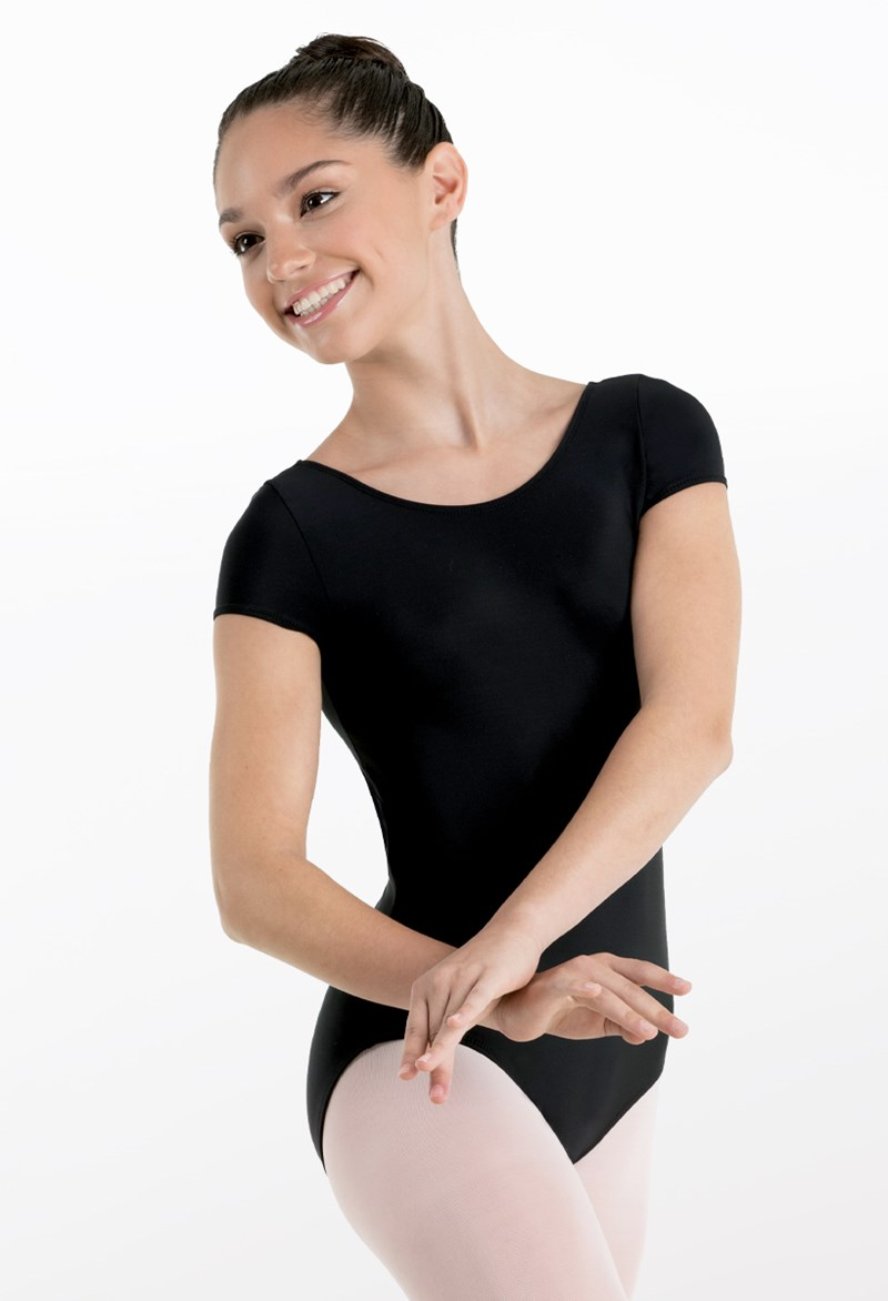 Short-Sleeve Leotard