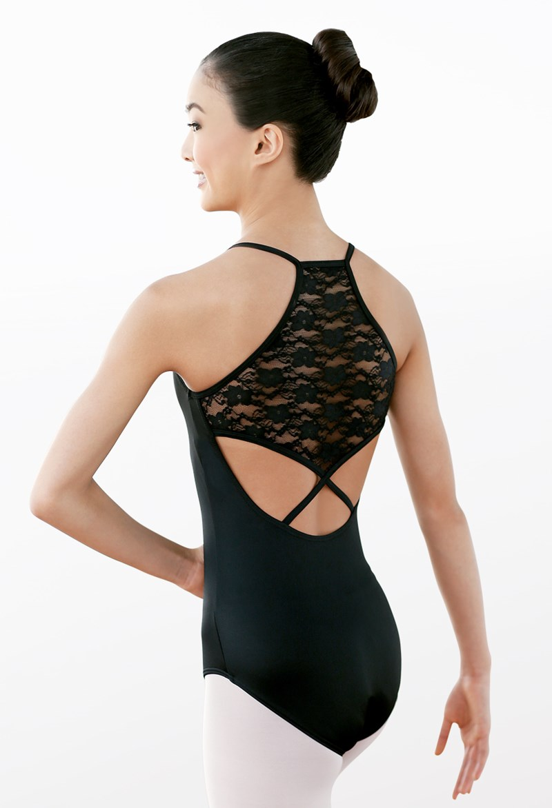 Balera Lace Back Halter Leotard