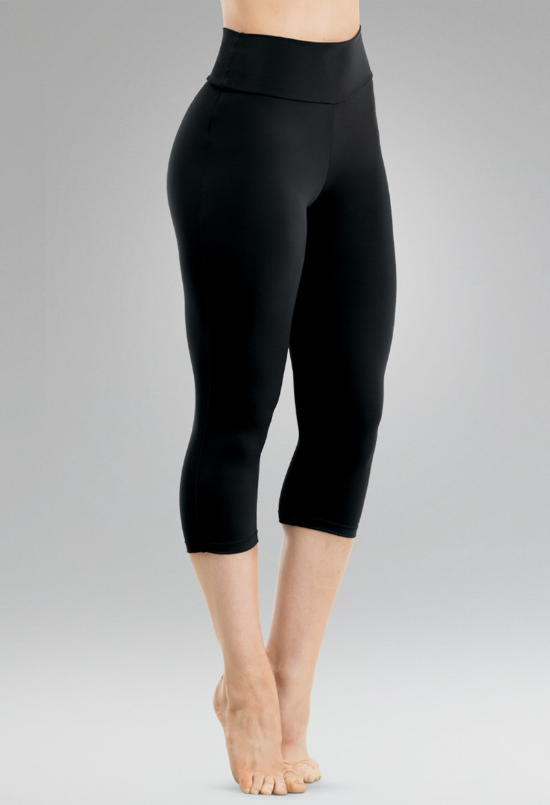 High-Waist Capri Leggings