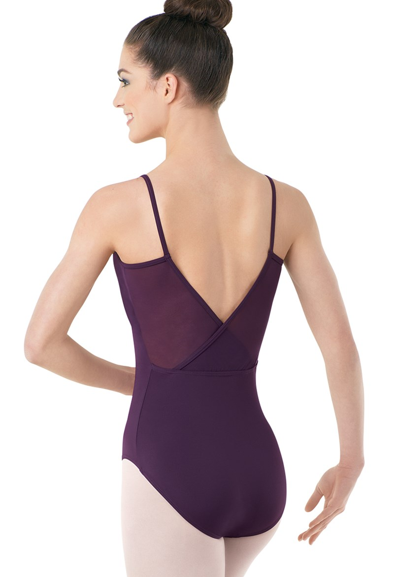 Mesh V-Back Leotard