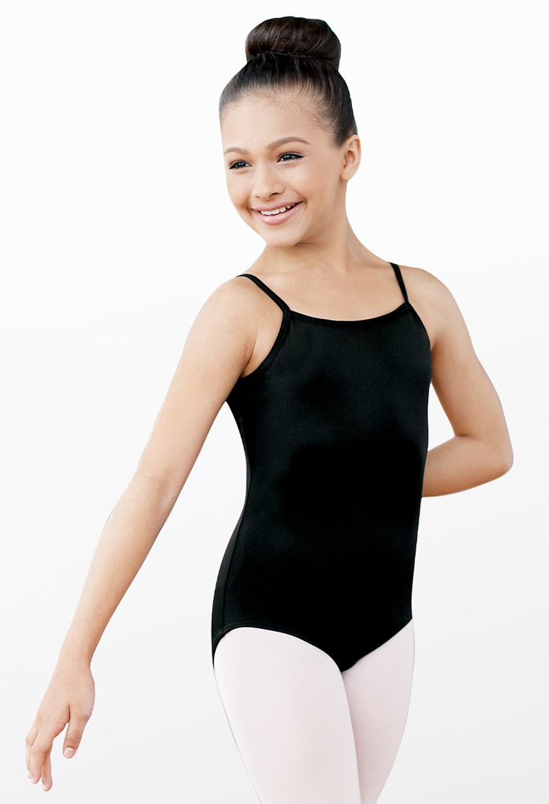 High-Back Camisole Leotard