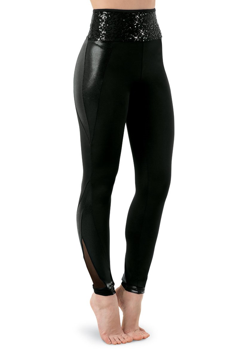 Balera Leggings With Sequin Waistband