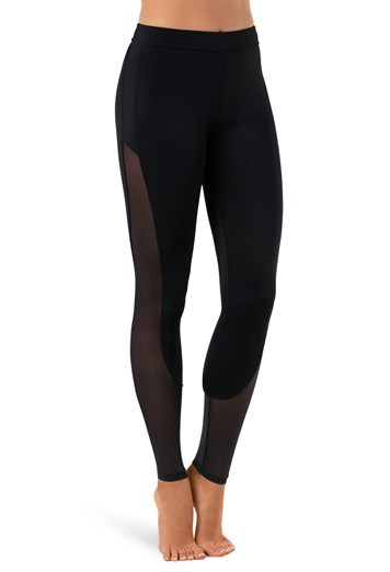 Mesh Inset Leggings