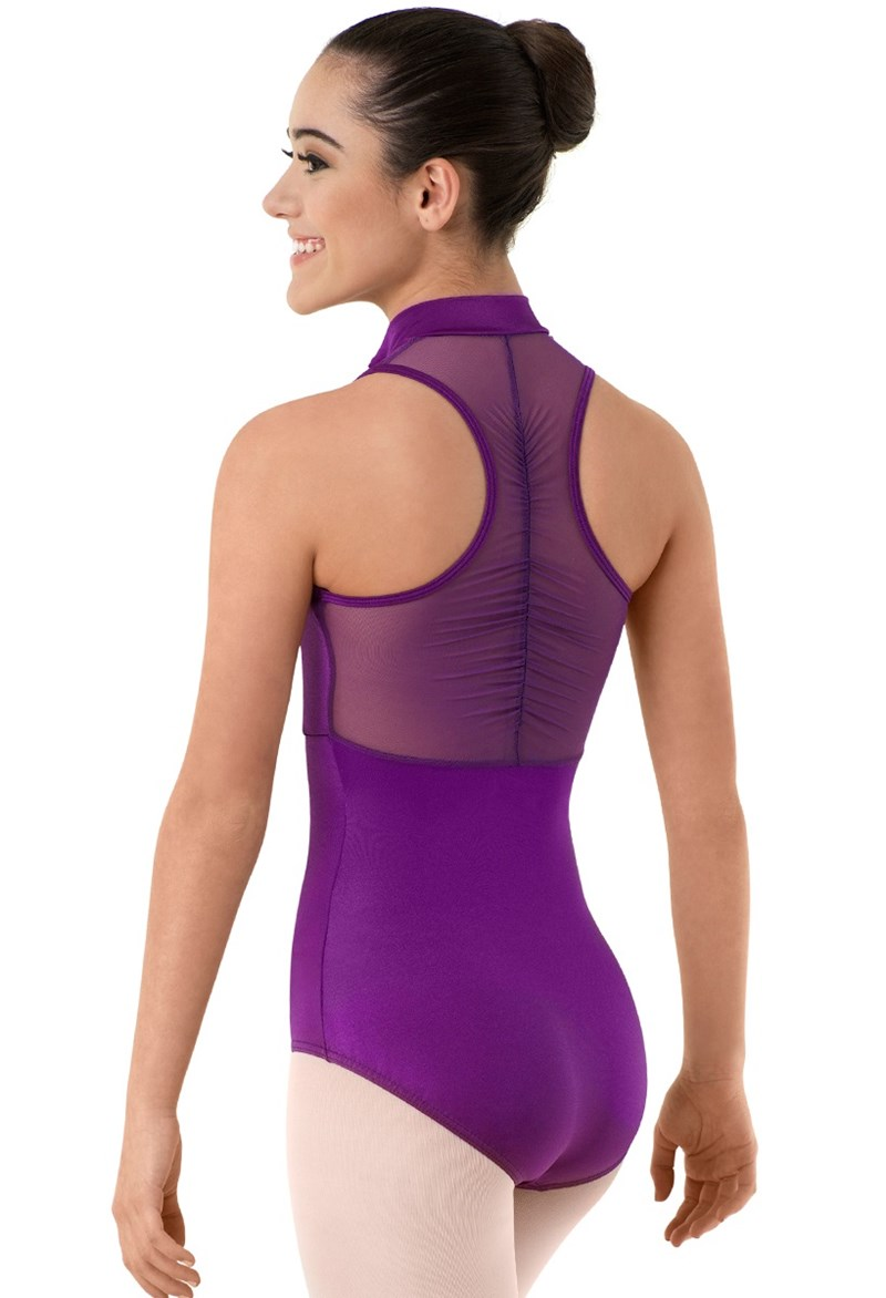 Body Wrappers Mesh Zip Leo