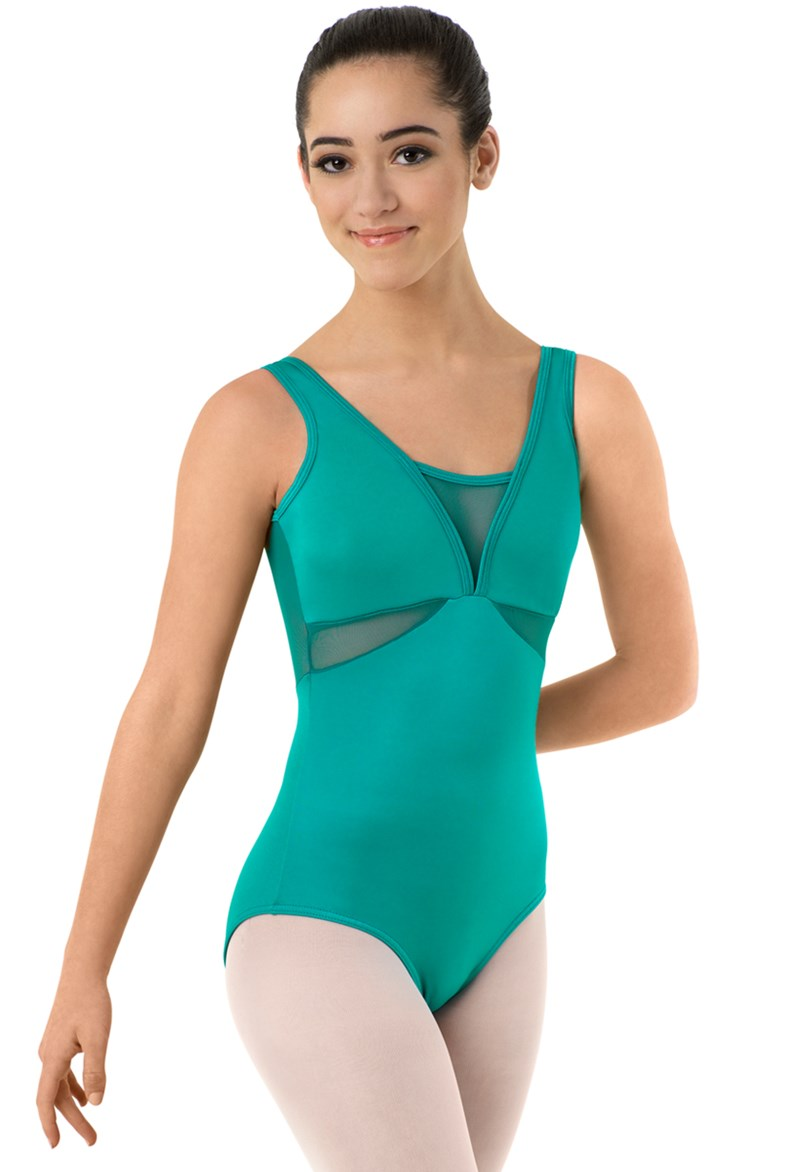Body Wrappers Mesh Leotard