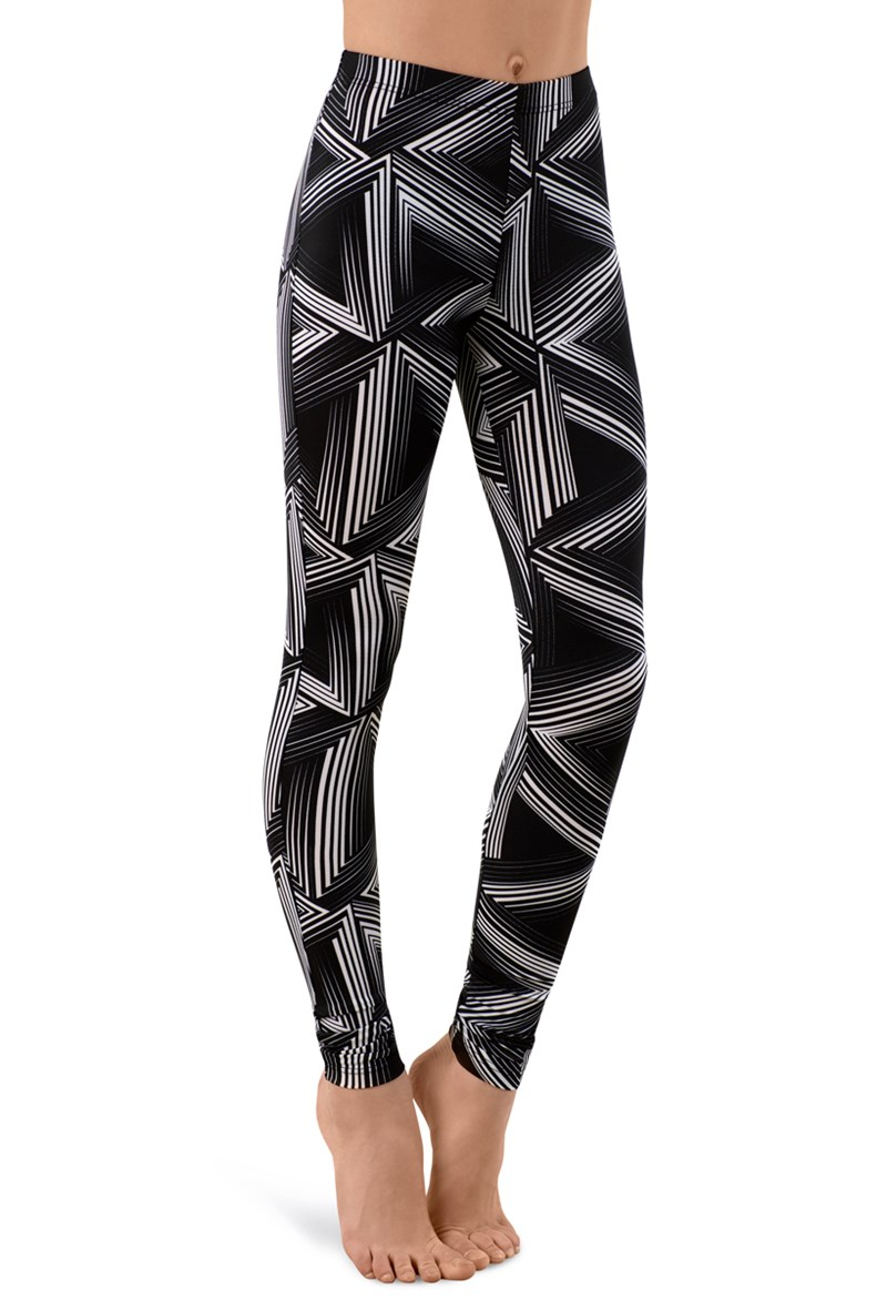 Balera Optic Printed Leggings