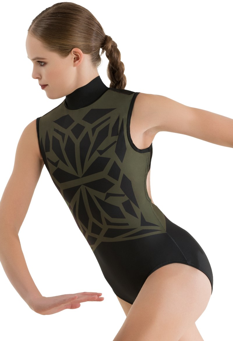 Balera Stained Glass Printed Leotard