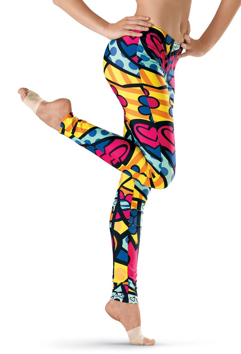 Urban Groove Comic Palooza Print Leggings