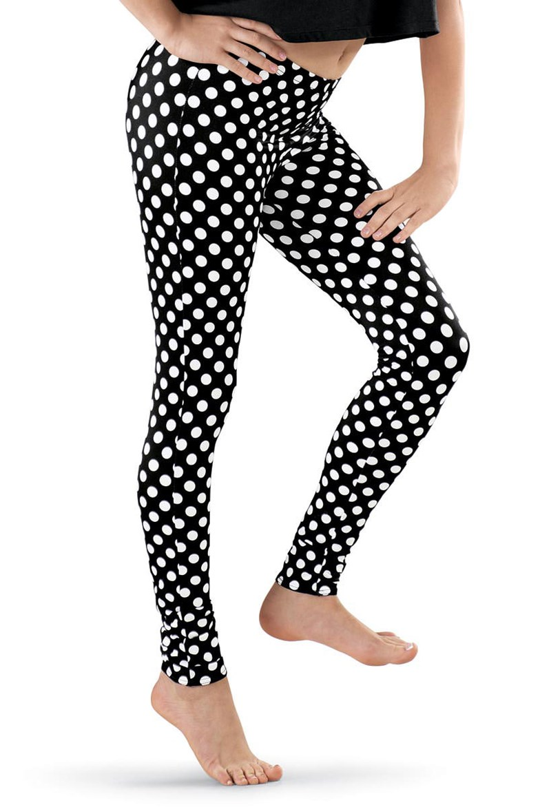 Urban Groove Polka Dot Print Leggings