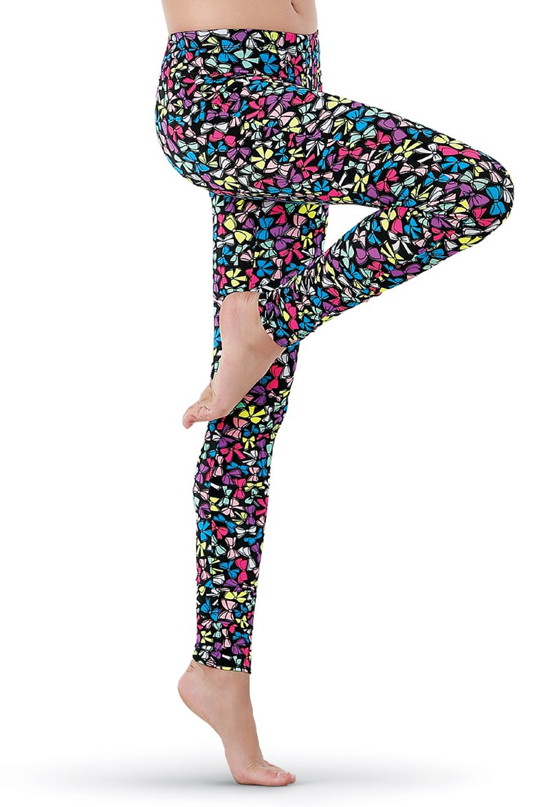 Mini Bow Print Leggings