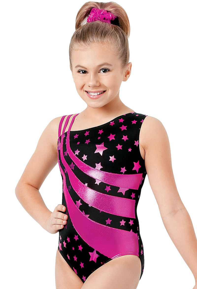 Triple Swipe Star Leotard