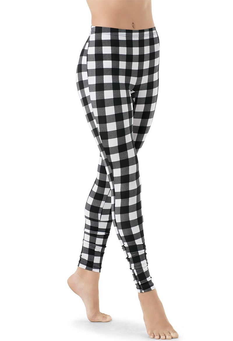 Buffalo Plaid Print Leggings
