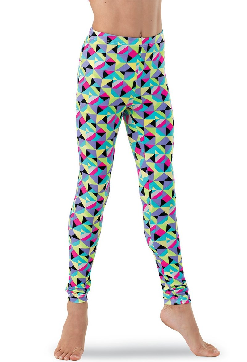 Geometric Candy Leggings
