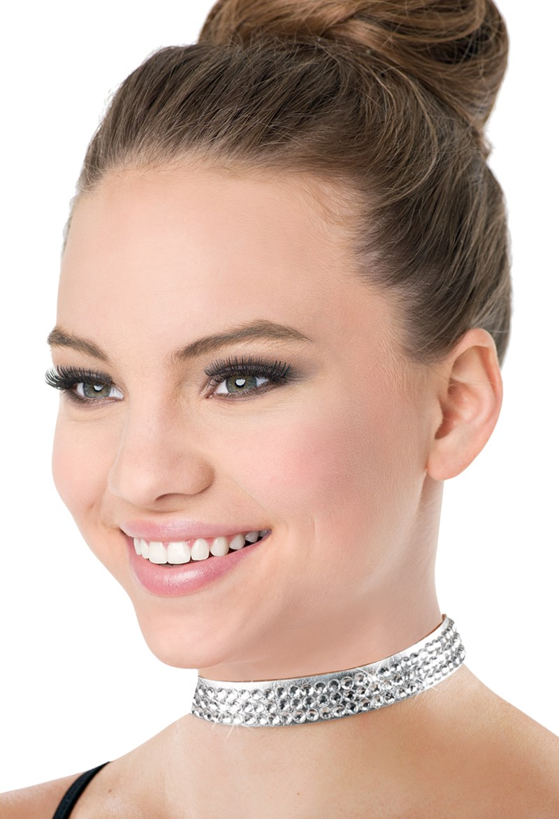 Balera Adjustable Rhinestone Choker