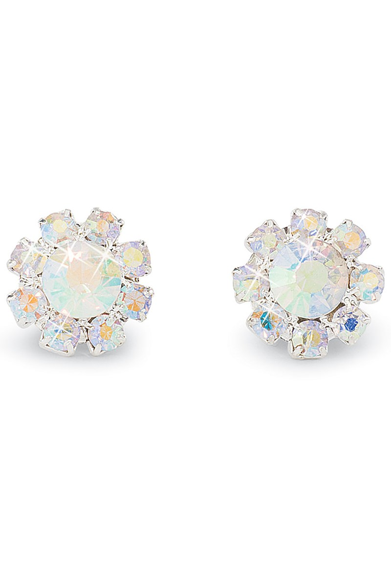 Balera Iridescent Rhinestone Earrings