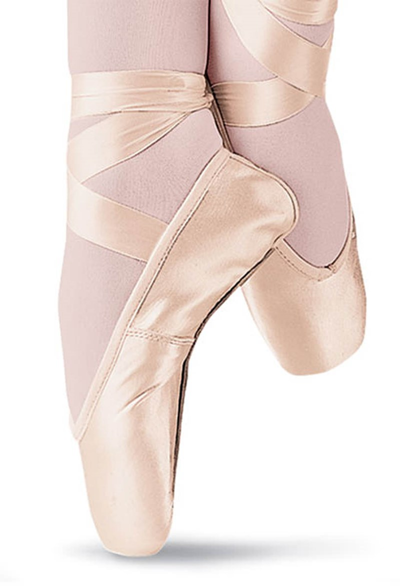 Bloch Serenade Pointe Shoes - Hard Shank/Euro. Pink - S0131