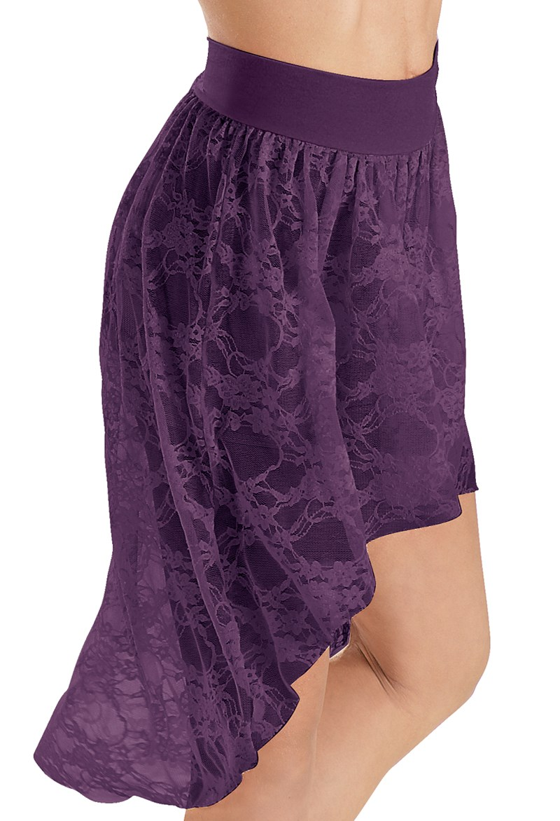 Balera Lace High-Low Skirt