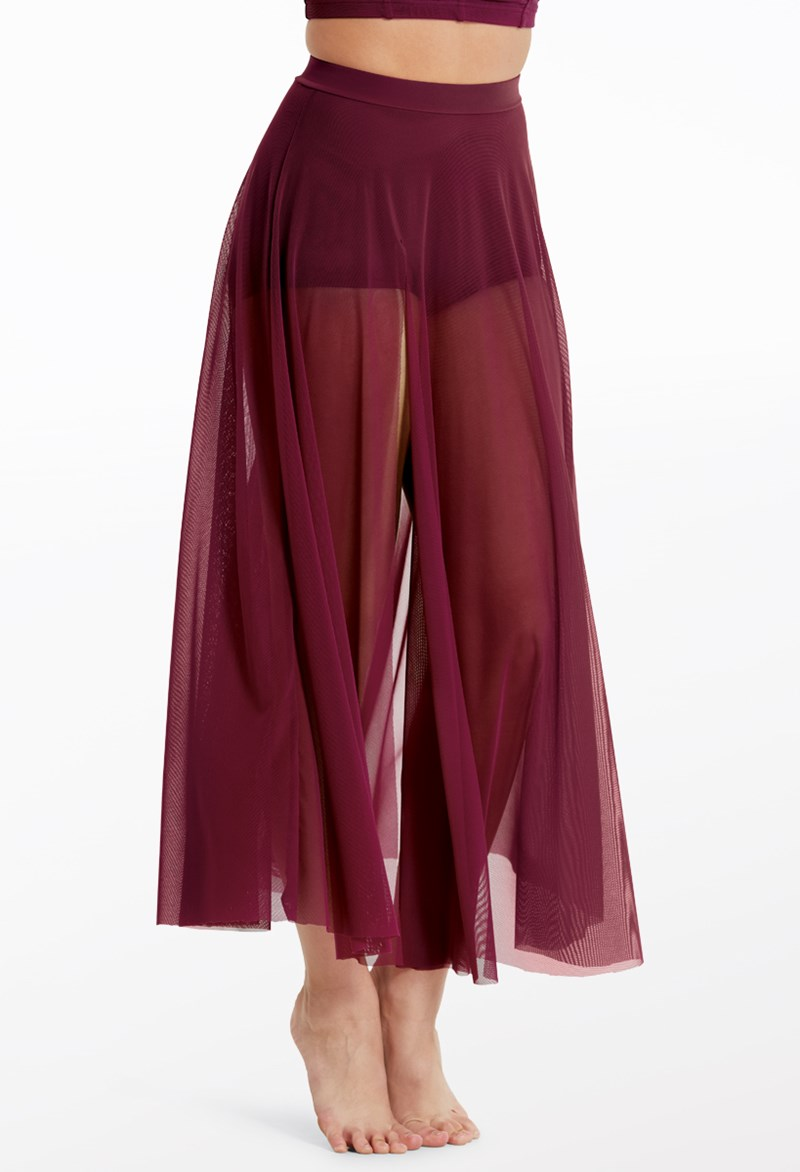 Balera High-Waist Mesh Maxi Skirt