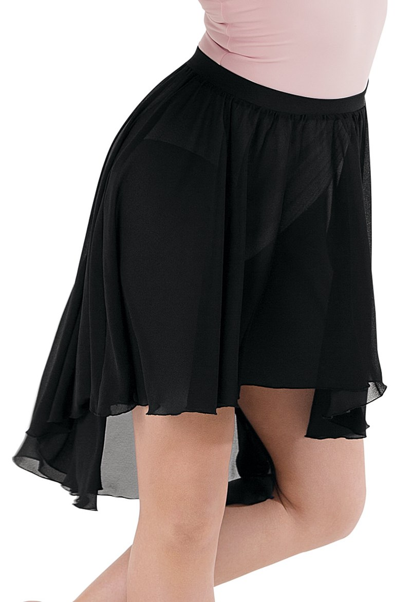 Balera High-Low Elastic Waist Skirt