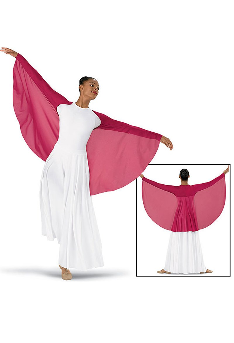 Spiritual Expressions Crepe Wing Shrug