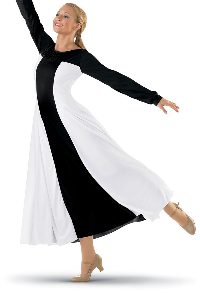 Spiritual Expressions Color-Block Praise Dress