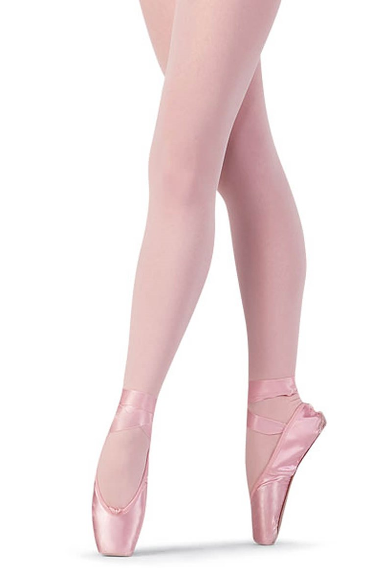 Bloch Child Footed Tight - White - T0921G