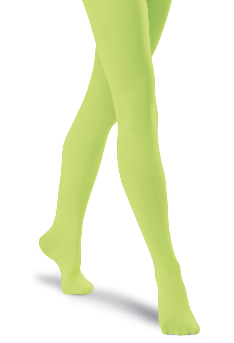 Girls' Bright Footed Tights