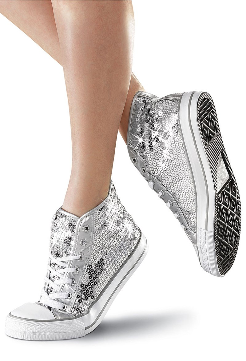 Balera Sequin High-Top Sneakers